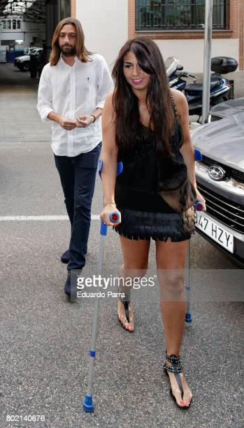 Sara Verdasco and Juan Carmona attend the 'Corazon 20th anniversary' party at Alma club on June 27 2017 in Madrid Spain