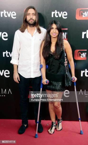 Sara Verdasco and Juan Carmona attends 'Corazon' TV Programme 20th Anniversary at Alma club on June 27 2017 in Madrid Spain