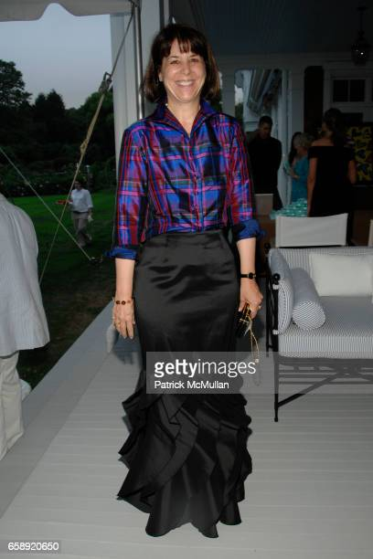 Sara Walker attends the Best Buddies Hamptons Gala at the Home of Anne Hearst McInerney and Jay McInerney on August 21 2009 in Watermill NY