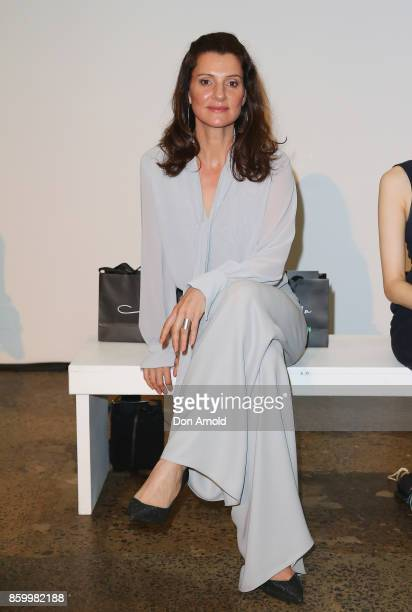 Sara Wiseman attends the Specsavers x Carla Zampatti Launch Event on October 11 2017 in Sydney Australia