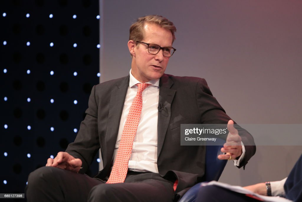 Saracens, Heath Harvey, speaks on stage at The Sport Industry Breakfast Club, supported by Deltatre and hosted by BT Sport, at the BT Centre on May 19, 2017 in London, England.