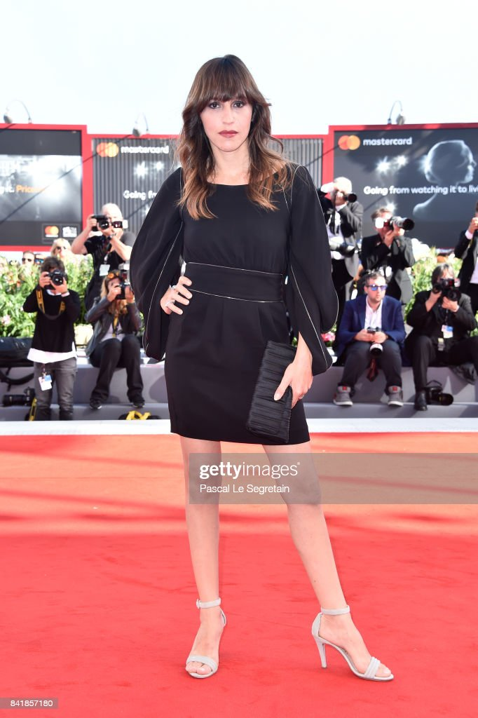 Sarah Adler walks the red carpet ahead of the 'Foxtrot' screening during the 74th Venice Film Festival at Sala Grande on September 2, 2017 in Venice, Italy.