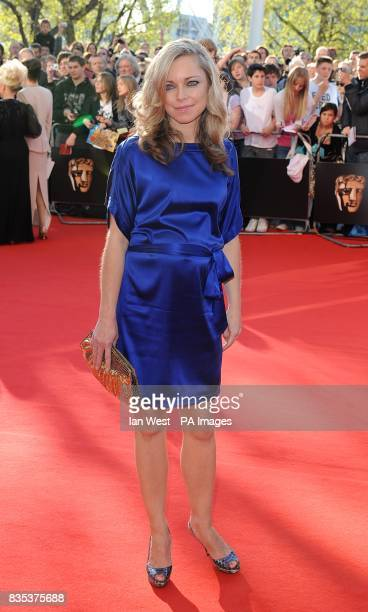 Sarah Alexander arriving for the British Academy Television Awards at the Royal Festival Hall in central London