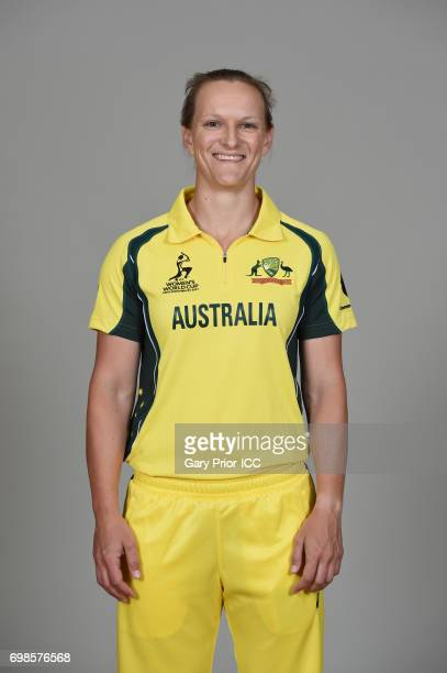 Sarah Aley of Australia on June 19 2017 in Leicester England