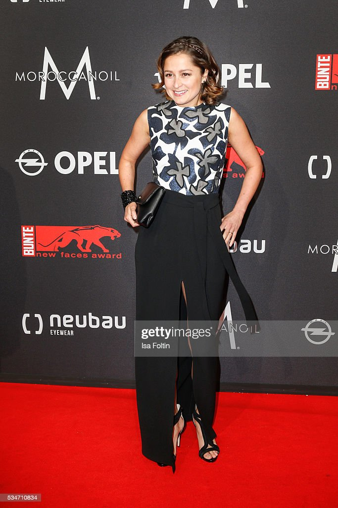 Sarah Alles attends the New Faces Award Film 2016 at ewerk on May 26, 2016 in Berlin, Germany.