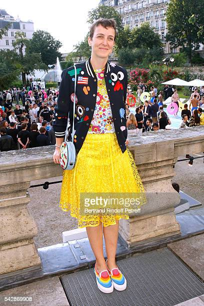 Sarah Andelman of Colette attends the Berluti Menswear Spring/Summer 2017 show as part of Paris Fashion Week on June 24 2016 in Paris France