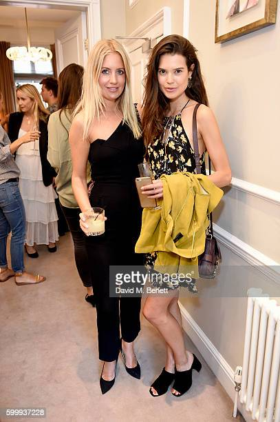 Sarah Ann Macklin and Marissa Montgomery attends a cocktail reception hosted by RACIL and MATCHESFASHIONCOM to celebrate the launch of Racil AW16...