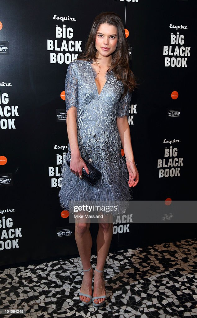 Sarah Ann Macklin attends Esquire's Little Black Book party at Sushi Samba on March 26, 2013 in London, England.