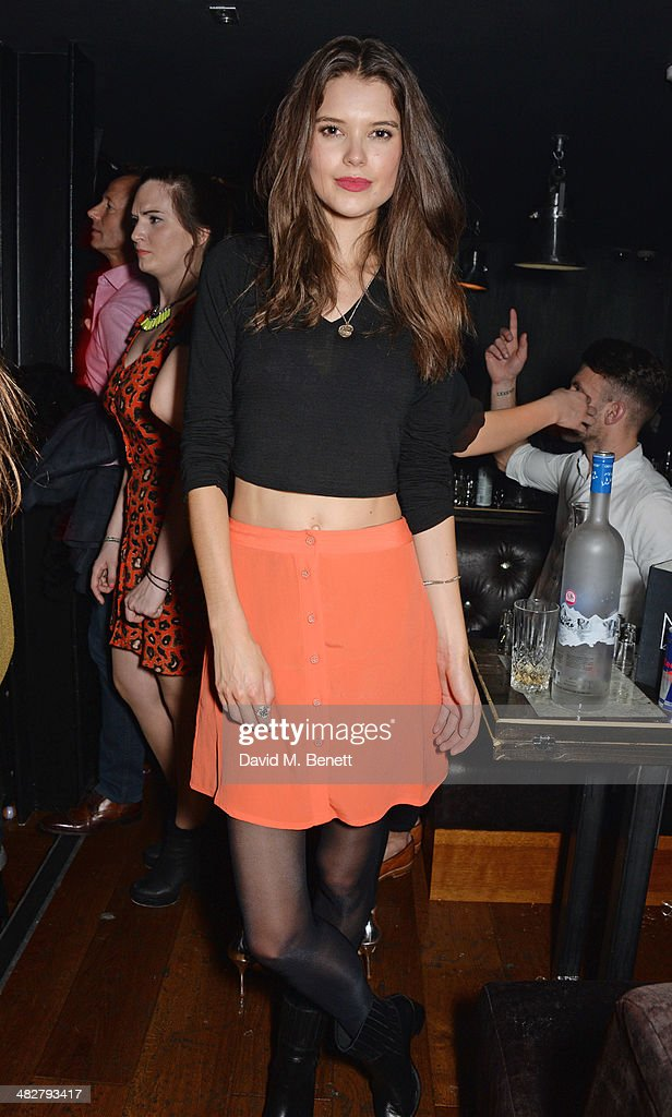<a gi-track='captionPersonalityLinkClicked' href=/galleries/search?phrase=Sarah+Ann+Macklin&family=editorial&specificpeople=8845247 ng-click='$event.stopPropagation()'>Sarah Ann Macklin</a> attends the launch of MODE in Notting Hill on April 4, 2014 in London, England.