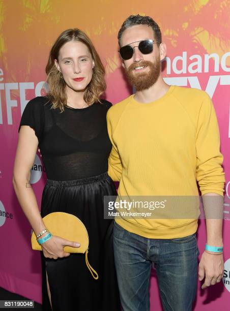 Sarah Anne Richardson and Reese Richardson of Electric Guest attend 2017 Sundance NEXT FEST at The Theater at The Ace Hotel on August 13 2017 in Los...