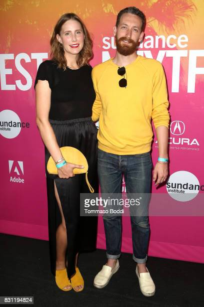 Sarah Anne Richardson and Reese Richardson of Electric Guest attend the 2017 Sundance NEXT FEST at The Theater at The Ace Hotel on August 13 2017 in...