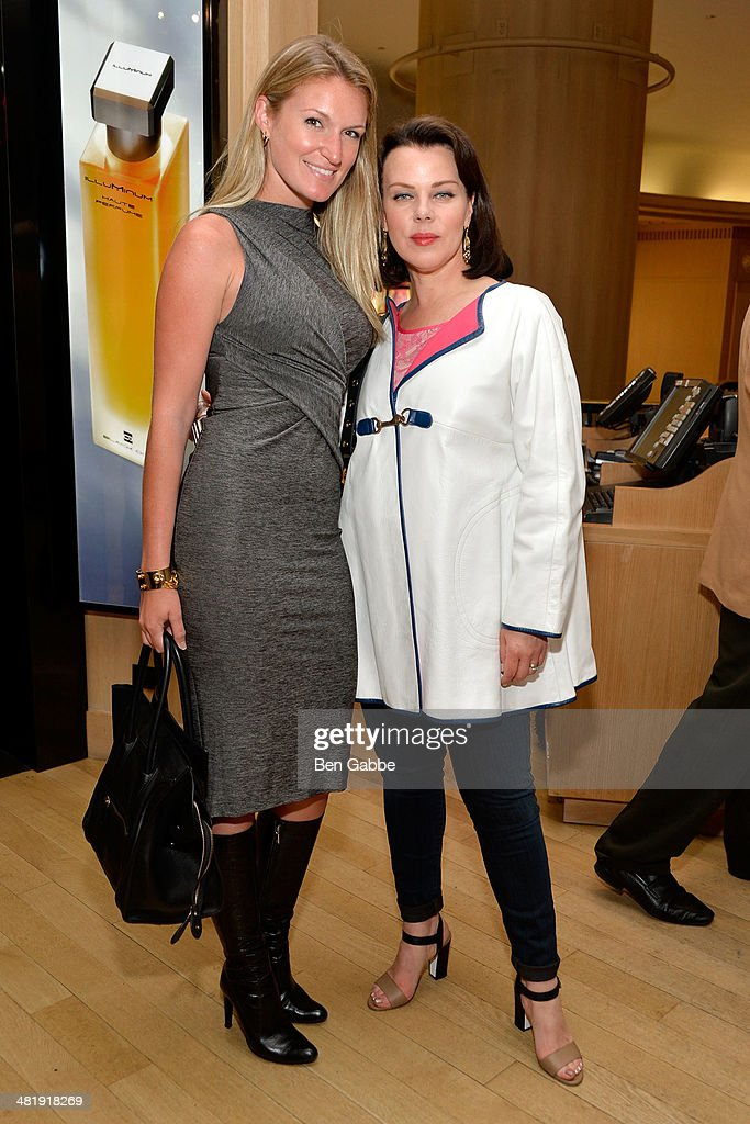 Sarah Arison (L) and actress <a gi-track='captionPersonalityLinkClicked' href=/galleries/search?phrase=Debi+Mazar&family=editorial&specificpeople=212937 ng-click='$event.stopPropagation()'>Debi Mazar</a> attend YoungArts New York 2014 Kick Off Event at Henri Bendel 5th Avenue on April 1, 2014 in New York City.