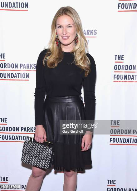 Sarah Arison attends the 2017 Gordon Parks Foundation Awards gala at Cipriani 42nd Street on June 6 2017 in New York City