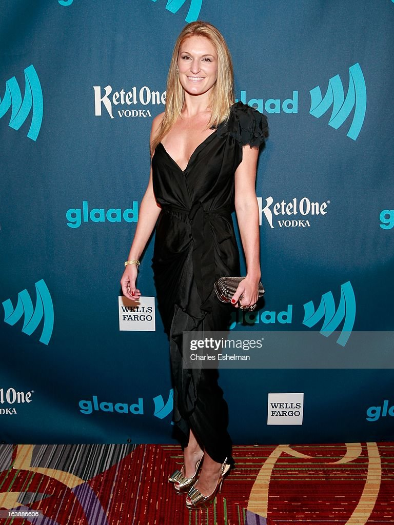 Sarah Arison attends the 24th annual GLAAD Media awards at The New York Marriott Marquis on March 16, 2013 in New York City.