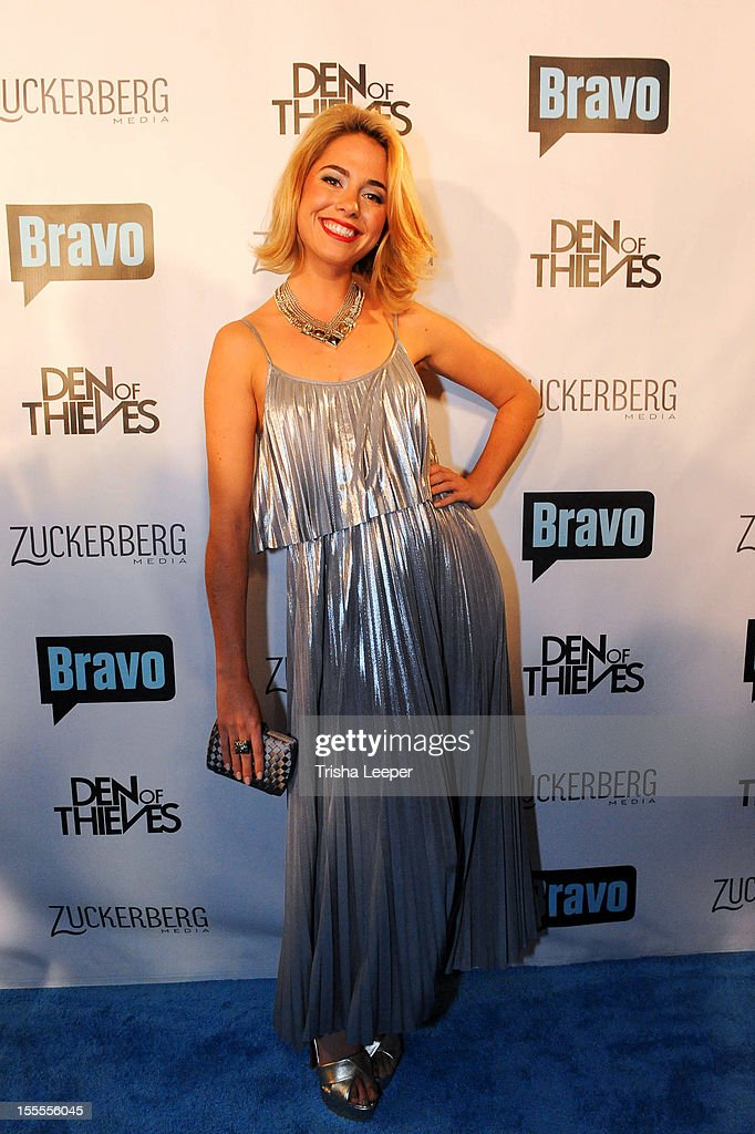 Sarah Austin attends Bravo's 'Start-Ups: Silicon Valley' Premiere Party at RF-80 on November 4, 2012 in San Francisco, California.