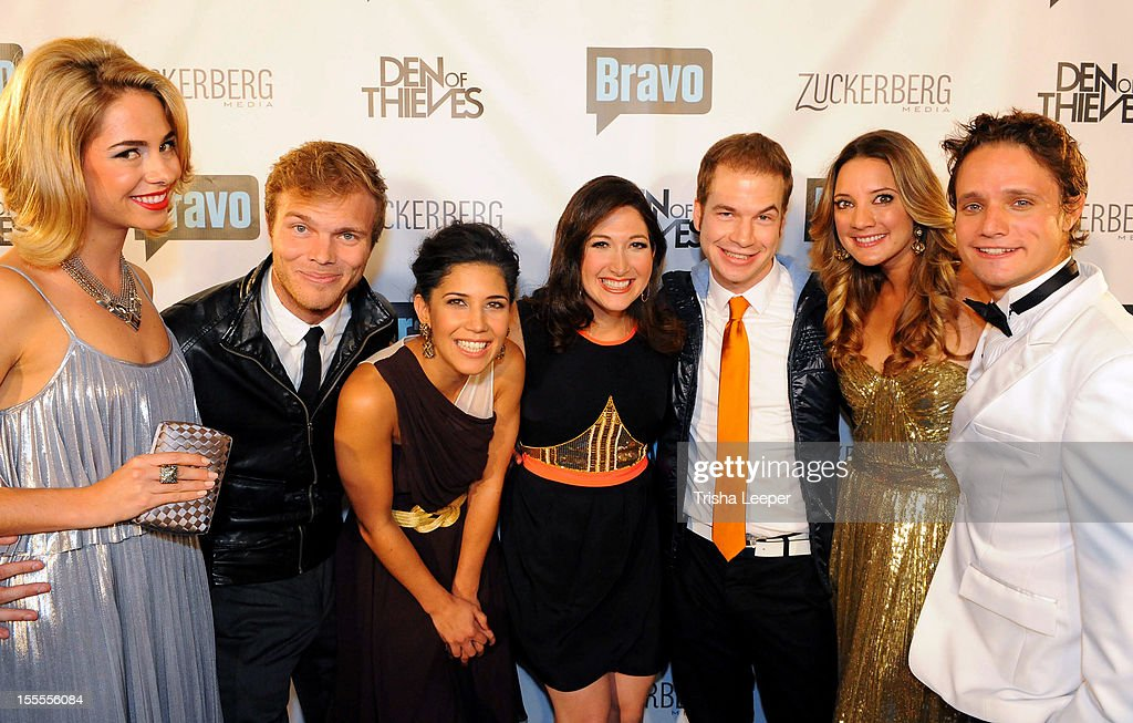 Sarah Austin, Dwight Crow, Kim Taylor, Randi Zuckerberg, David Murray, Hermione Way and Ben Way attends the Bravo's'Start-Ups: Silicon Valley' Premiere Party at RF-80 on November 4, 2012 in San Francisco, California.