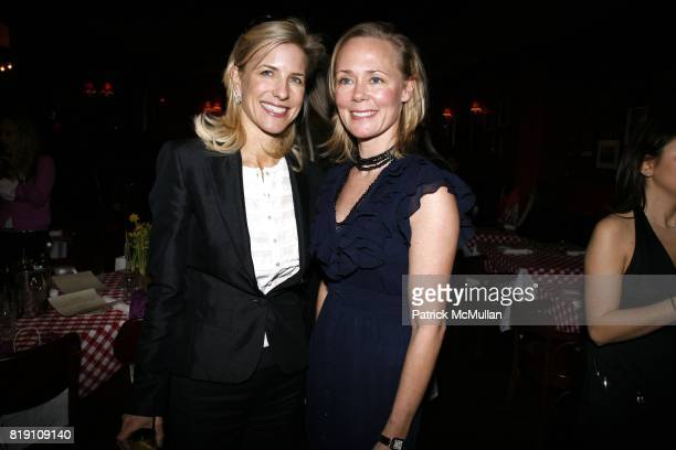 Sarah Ayres and Hilary Dick attend COURTNEY MOSS and GIGI MORTIMER host a lunch to celebrate their company GLAMOURPUSS at East Side Social Club on...