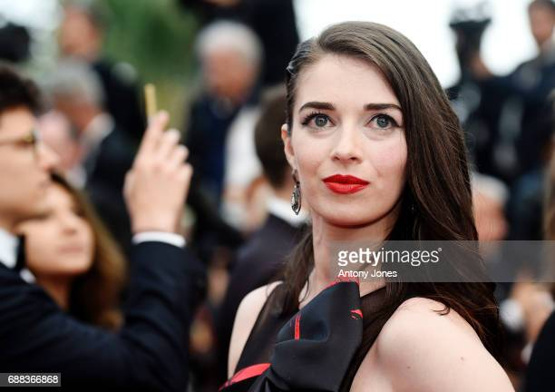 Sarah Barzyk attends the 'Twin Peaks' screening during the 70th annual Cannes Film Festival at Palais des Festivals on May 25 2017 in Cannes France