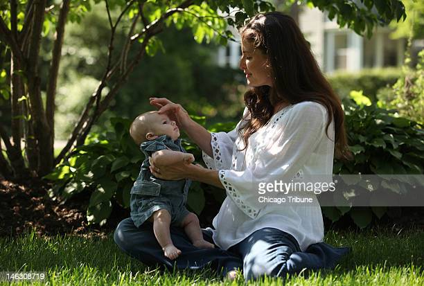 Sarah Benedict of Hinsdale Illinois underwent microarray testing before her son Andrew Bero now 3 months was born The tests showed no birth defects...