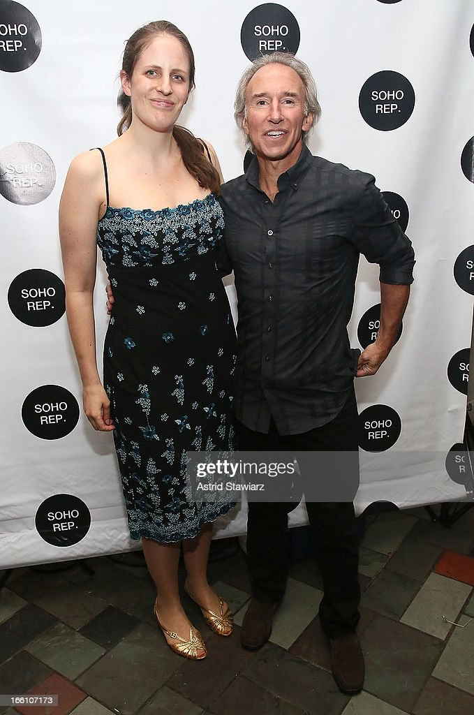Sarah Benson and John Adrian Selzer attend Soho Rep's 2013 Spring Gala on April 8, 2013 in New York, United States.