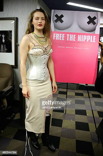Sarah Beth Stroller attends 'Free The Nipple' New York Premiere at IFC Center on December 11 2014 in New York City