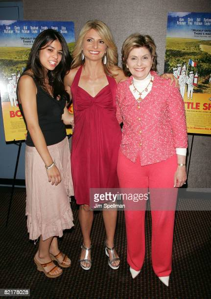 Sarah Bloom Lisa Bloom and attorney Gloria Allred attend the premiere of 'Bottle Shock' at Cinema 2 on August 4 2008 in New York City