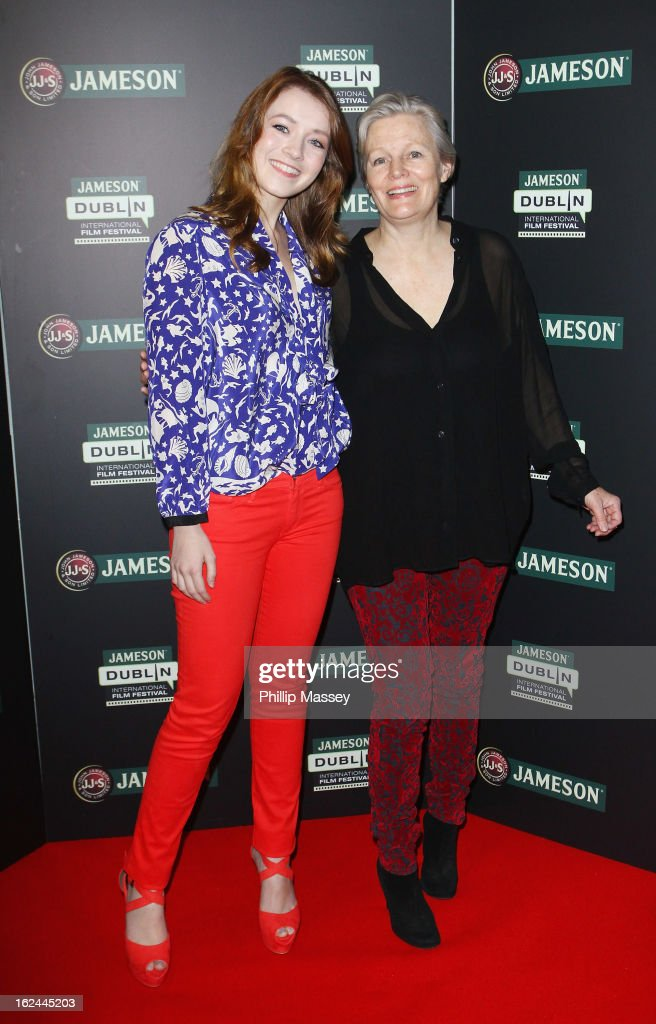<a gi-track='captionPersonalityLinkClicked' href=/galleries/search?phrase=Sarah+Bolger&family=editorial&specificpeople=879067 ng-click='$event.stopPropagation()'>Sarah Bolger</a> and Mary Hannon attend a screening of 'The Moth Diaries' during the Jameson International Film Festival on February 23, 2013 in Dublin, Ireland.