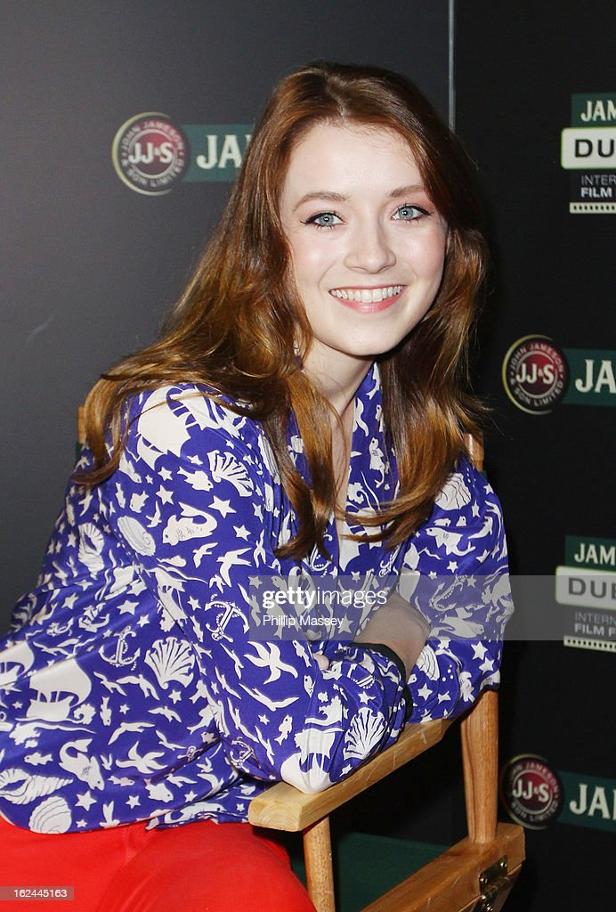 Sarah Bolger attends a screening of 'The Moth Diaries' during the Jameson International Film Festival on February 23, 2013 in Dublin, Ireland.