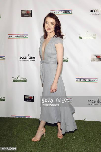 Sarah Bolger attends the 12th Annual Oscar Wilde Awards at Bad Robot on February 23 2017 in Santa Monica California