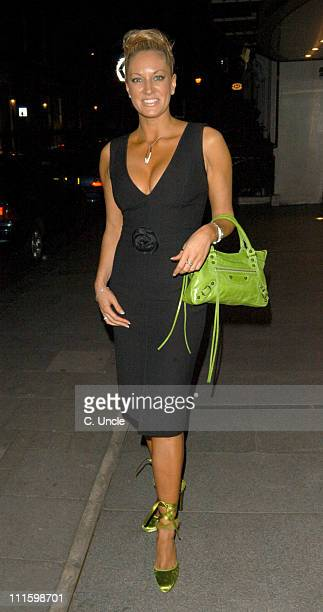 Sarah Bosnich Attending Her Birthday Party At The Embassy Night Club