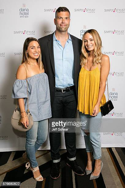 Sarah Boyd Ben Klusmeyer and Catt Sadler attend the Simply Stylist Chicago Fashion Beauty Conference 2016 At The Dana Hotel Spa at Dana Hotel Spa on...