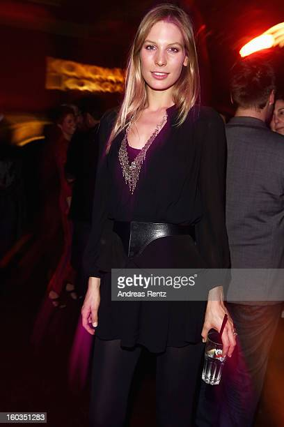 Sarah Brandner attends the after show party to 'Kokowaeaeh 2' Germany Premiere at Astra on January 29 2013 in Berlin Germany