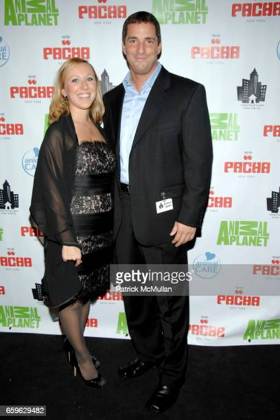 Sarah Brown and Richard Gentles attend ANIMAL CARE NYC ANIMAL PLANET 2nd Annual Gala at Pacha on October 22 2009 in New York City