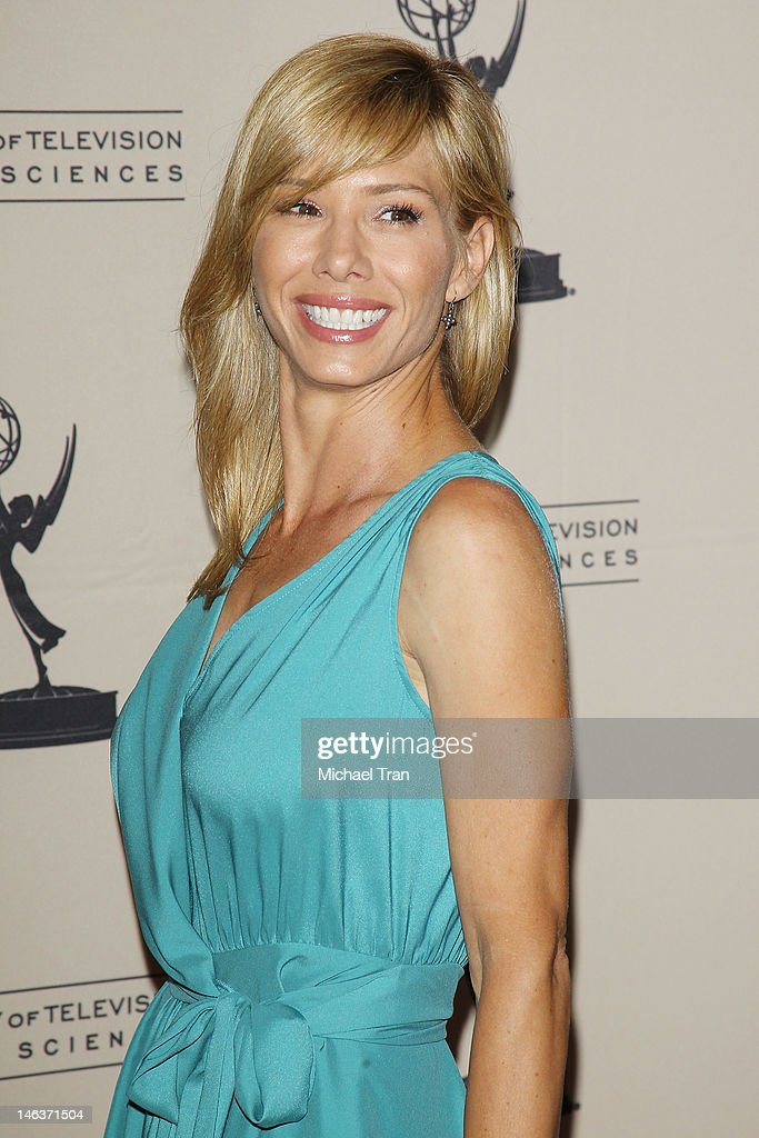 Sarah Brown arrives at 39th Daytime Entertainment Emmy Awards - nominees reception held at SLS Hotel on June 14, 2012 in Beverly Hills, California.