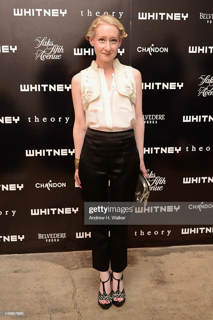 Sarah Brown attends 2012 WHITNEY ART PARTY Sponsored By Theory And Saks Fifth Avenue At Skylight Soho on June 6, 2012 in New York City.