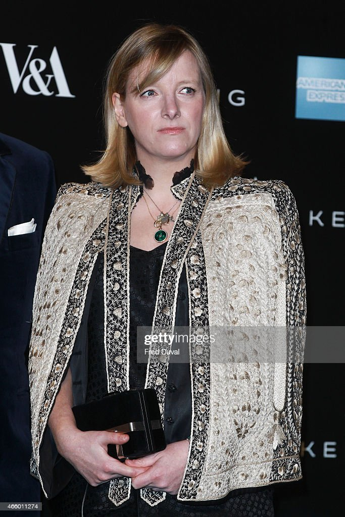 <a gi-track='captionPersonalityLinkClicked' href=/galleries/search?phrase=Sarah+Burton&family=editorial&specificpeople=6735119 ng-click='$event.stopPropagation()'>Sarah Burton</a> attends a private view for the 'Alexander McQueen: Savage Beauty' exhibition at Victoria & Albert Museum on March 12, 2015 in London, England.