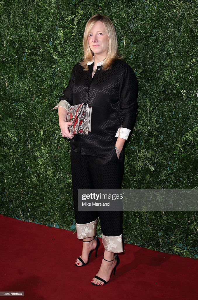 <a gi-track='captionPersonalityLinkClicked' href=/galleries/search?phrase=Sarah+Burton&family=editorial&specificpeople=6735119 ng-click='$event.stopPropagation()'>Sarah Burton</a> attends the 60th London Evening Standard Theatre Awards at London Palladium on November 30, 2014 in London, England.
