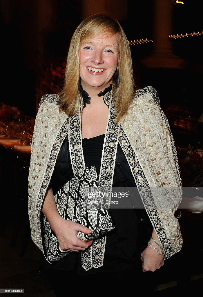 Sarah Burton attends the Alexander McQueen and Frieze Dinner to celebrate the Frieze Art Fair 2013 on October 17, 2013 in London, England.