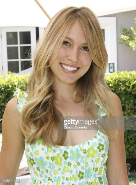 Sarah Carter during The Launch of Jacob's Cure Smiley Bag by Babydish at Private Residence in Los Angeles California United States