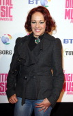 Sarah Cawood Arrives At The Bt Digital Music Awards 2008 At The Roundhouse London