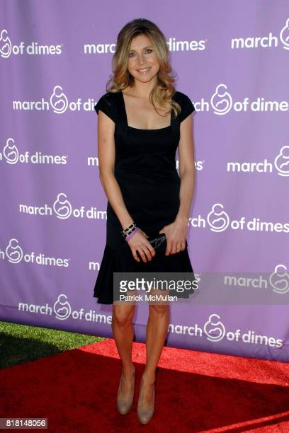 Sarah Chalke attends March of Dimes Foundation Samantha Harris Host 5th Annual Celebration of Babies Luncheon at The Four Seasons Hotel on November...