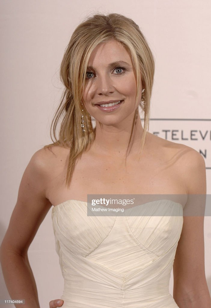 Sarah Chalke presenter during 58th Annual Creative Arts Emmy Awards Press Room at The Shrine Auditorium in Los Angeles California United States