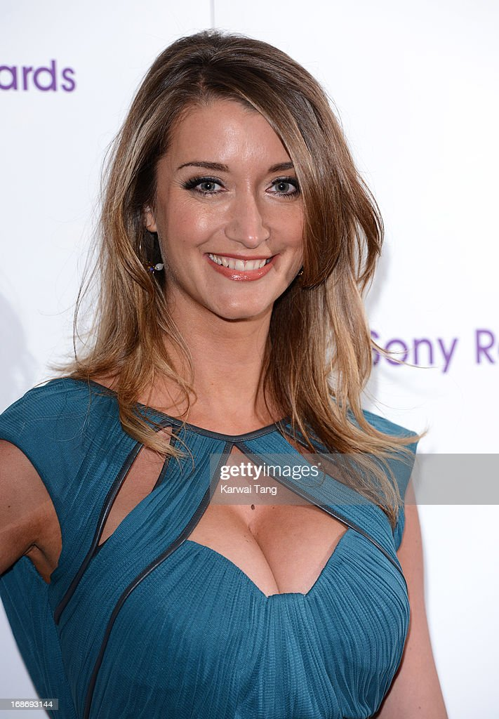Sarah Chapman attends the Sony Radio Academy Awards at The Grosvenor House Hotel on May 13, 2013 in London, England.
