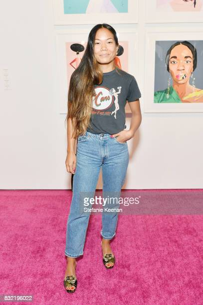 Sarah Chavez at 'Pinkie Swear' Makeup Collective Celebrates Launch With Special Exhibition 'Drawn In Beauty Illustration in the Digital World'...