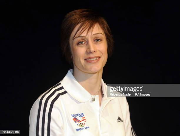 Sarah Clark Judo Member of Team GB for Beijing Weight Category 63Kg Home Town South Shields at the Budokwai London