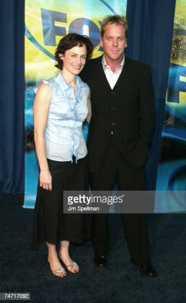 Sarah Clarke Kiefer Sutherland at the Pier 88 in New York City New York