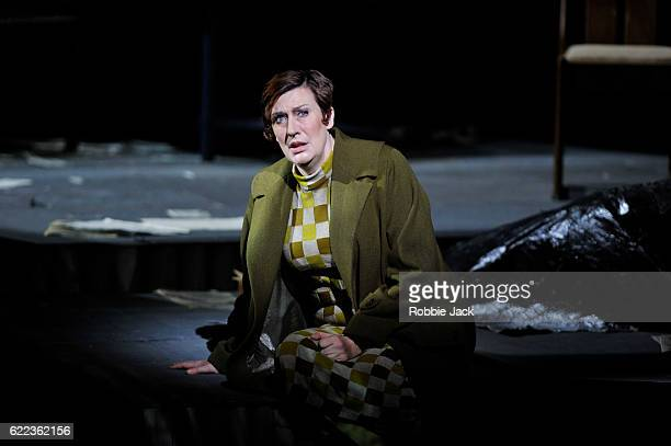Sarah Connolly as Countess Geschwitz in English National Opera's production of Alban Berg's 'Lulu' directed and designed by William Kentridge and...