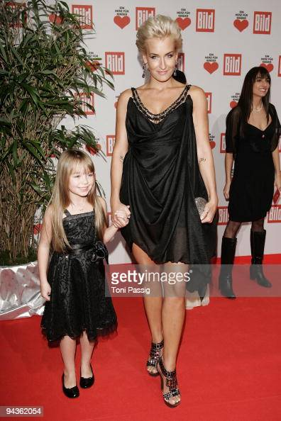 Sarah Connor and Connie Talbot attend the 'Ein Herz fuer Kinder' Gala at Studio 20 at Adlershof on December 12 2009 in Berlin Germany
