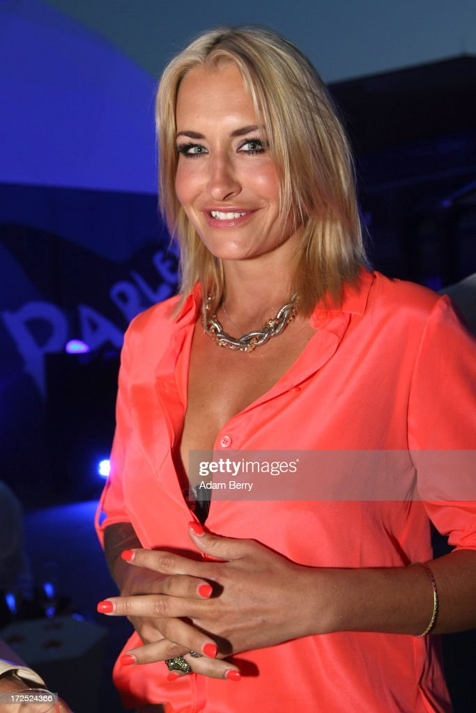 Sarah Connor at the Pharrell Williams Private Reception during MercedesBenz Fashion Week Spring/Summer 2014 on July 2 2013 in Berlin Germany