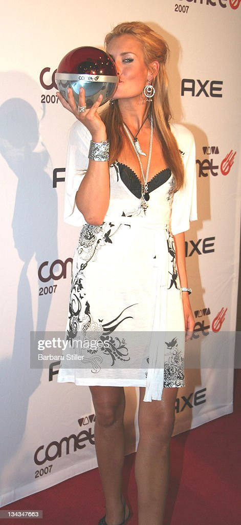 Sarah Connor during 2007 Comet Awards Pressroom at Cologne Musical Dome in Cologne Cologne Germany